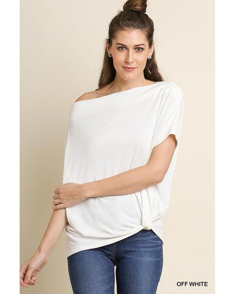 Lazy Days Off the Shoulder Top - Essentially Elegant