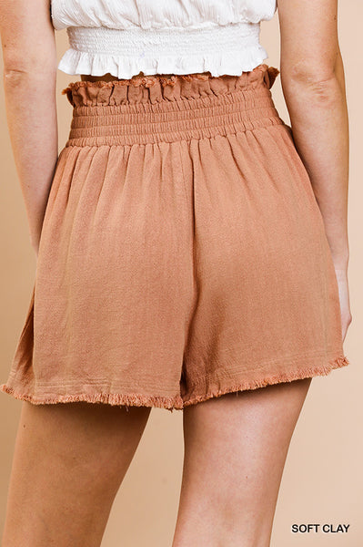 New Arrival! Willa Peasant Shorts - Essentially Elegant