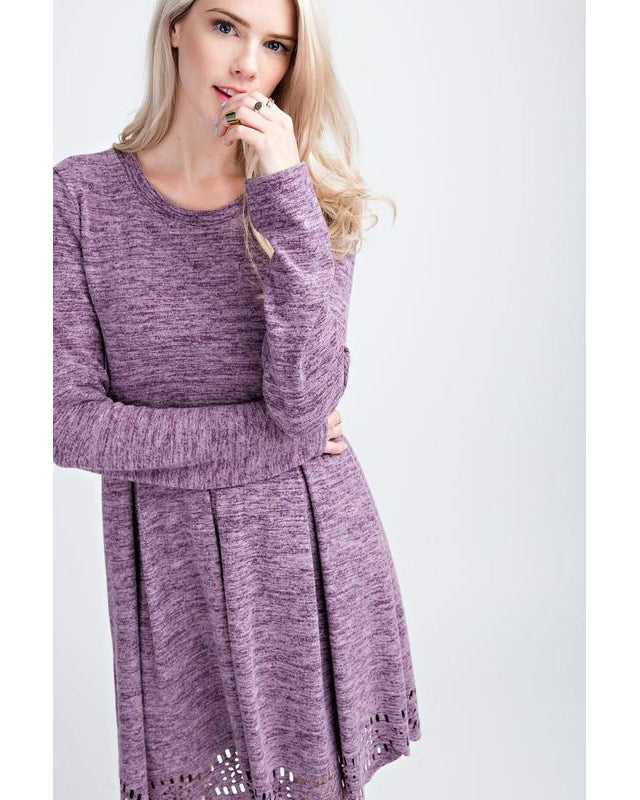 Emma Dress - Violet - Essentially Elegant