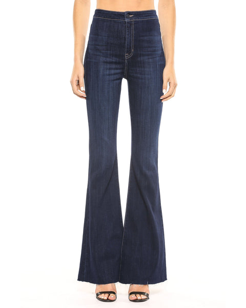 Coming Soon!! Cello High Rise Dark Wash Super Flare Jeans - Essentially Elegant