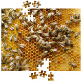 Bee Puzzle - Bees & Honeycomb Jigsaw Puzzle