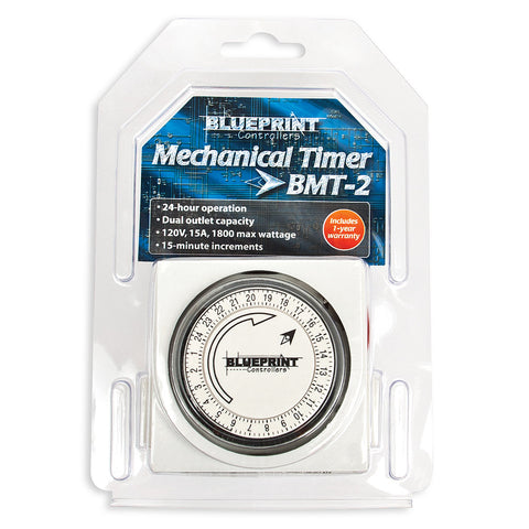 Mechanical Timer 120V, Dual Outlet