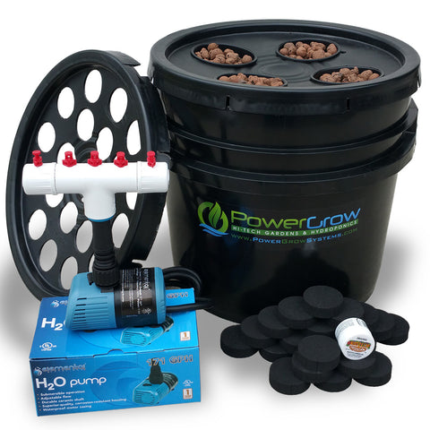 PowerGrow Ultimate Bucket Cloner & Garden Combo Kit