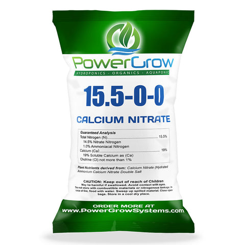Calcium Nitrate 15.5-0-0 Fertilizer