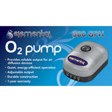 O2 Air Pump 380 gph - 8 Outlets