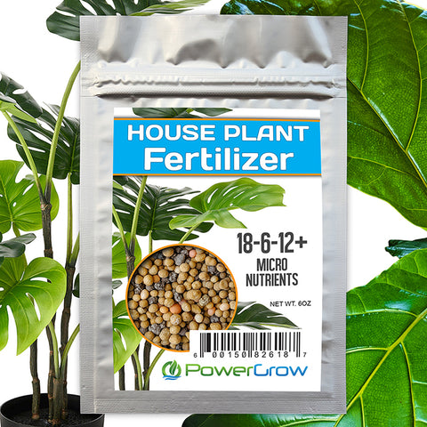 Houseplant Fertilizer for ZZ Plant, Snake Plant, Fig Tree, Olive Trees etc (8 Month Slow Release)