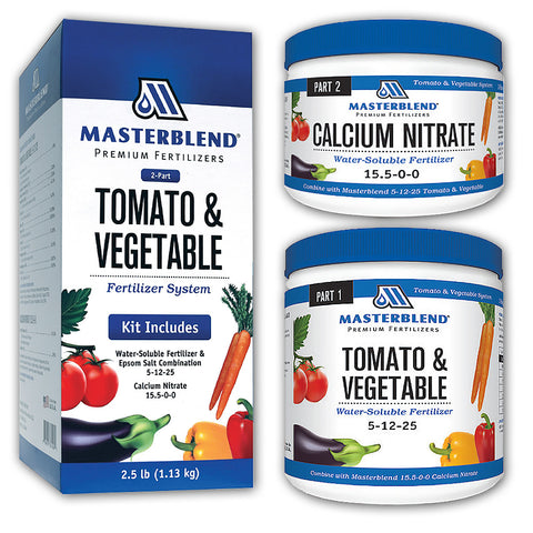 MasterBlend 4-18-38 Tomato & Vegetable Fertilizer 2.5# RETAIL KIT