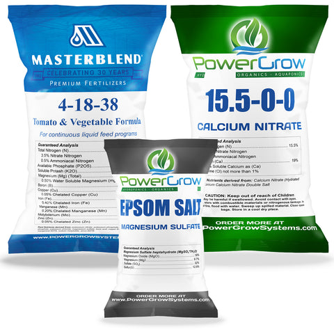 MasterBlend 4-18-38 Fertilizer Master Kit - BULK