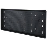 Microgreen Trays - Shallow Germination Tray WITH HOLES - 10x20x1.25""