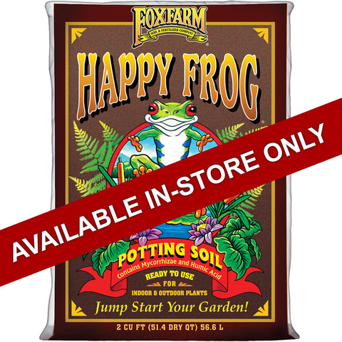 Happy Frog Soil 2cu ft Bag (In Store Only)