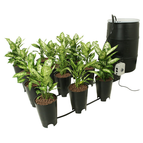 Active Aqua Grow Flow 2 gal Hydroponic System w/Controller Unit