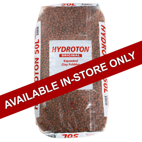 Hydroton Expanded Clay 50-Liter Bag (In Store ONLY)