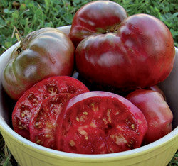 Russian Black Krim Heirloom Tomato Seeds (30 seeds)