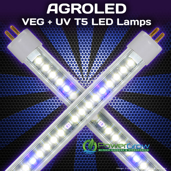 Agroled 174 Isunlight 174 Veg Uv T5 Led Grow Bulbs Powergrow