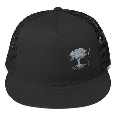 Trucker Snapback Hat - PowerGrow Roots Logo