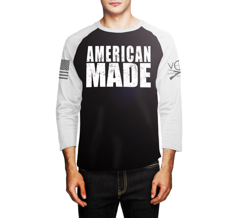 American Made - Mens Raglan (Pre-sale)