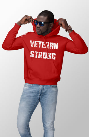 Veteran Strong - Men's Hoodie