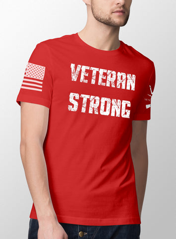 Veteran Strong - Mens T-Shirt