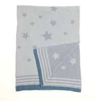 Ziggle Blue Stars Cotton Blanket