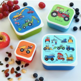 Tyrrell Katz Set of 4 Snack Boxes | Trucks