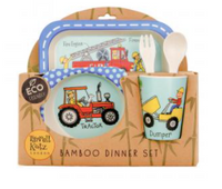 Tyrrell Katz 5PC Bamboo Dinner Set | Trucks
