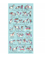 Tyrrell Katz Unicorn Design Towel