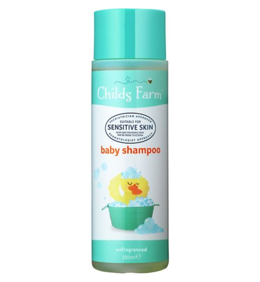 Childs Farm Baby Shampoo 250ml | Unfragranced