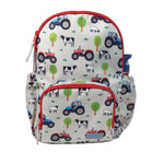 Playzeez Tractor Backpack | Red