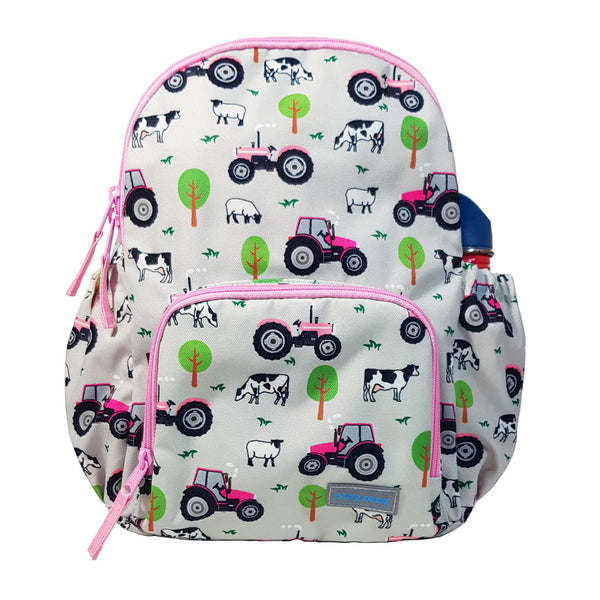 Playzeez Tractor Backpack | Pink