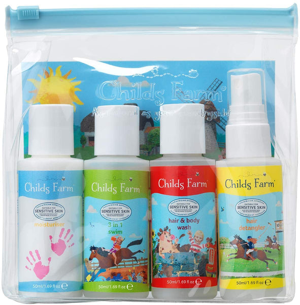 Childs Farm Little Essentials Kit x4 50ml