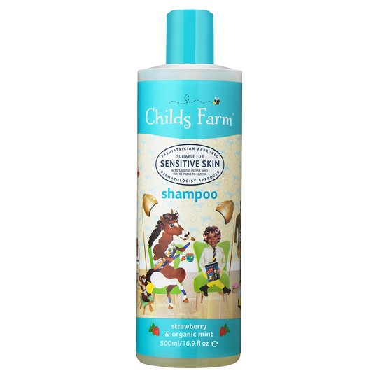 Childs Farm Strawberry & Organic Mint Shampoo 500ML