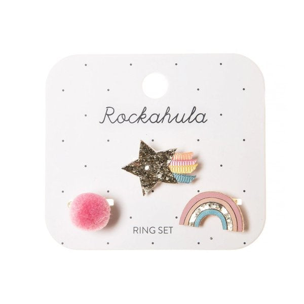 Rockahula Wish Upon a Star Ring Set