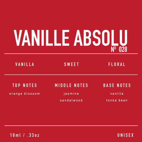 NO. 028 VANILLE ABSOLU