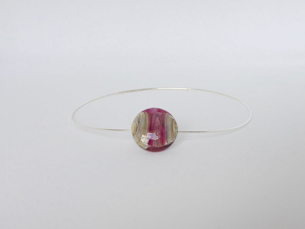 Floating Lentil Pendant from The Bala Cranberry Collection