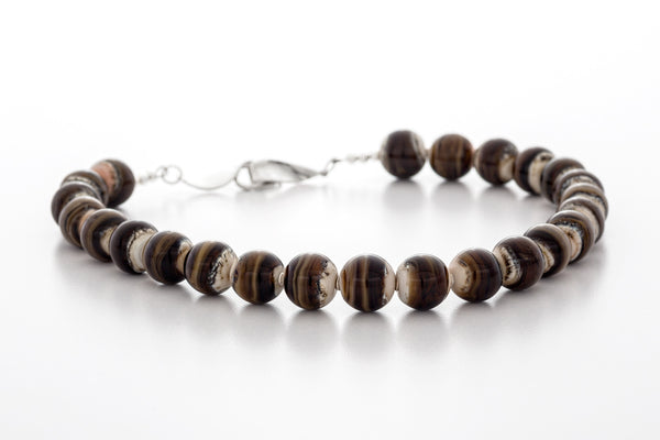 Necklace - Haliburton Highlands Creamy Brown
