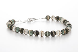Necklace - Kingston Limestone Tri-Grey