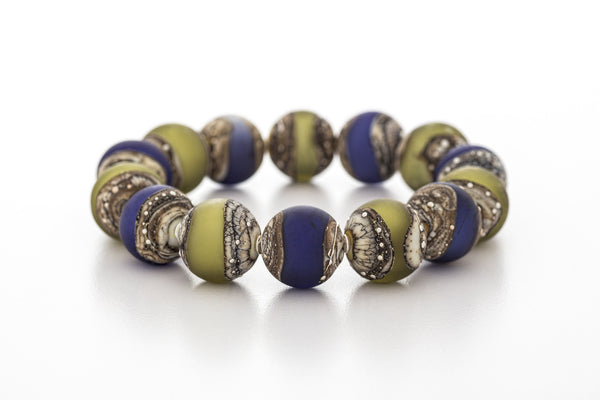Bracelet - Kingston Limestone Blue Green