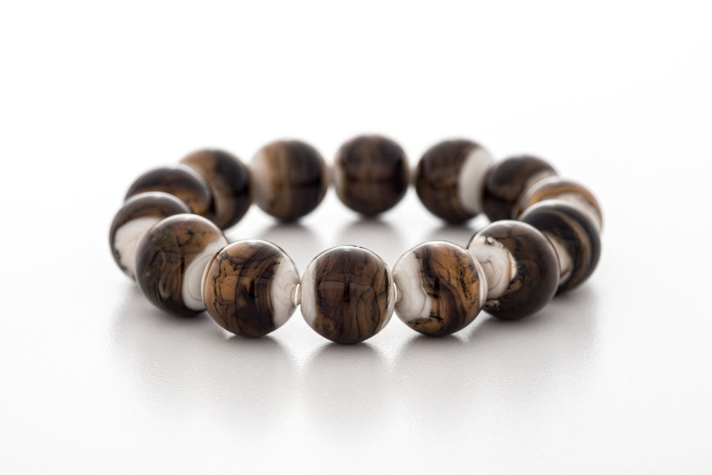 Bracelet - Haliburton Highlands Creamy Brown