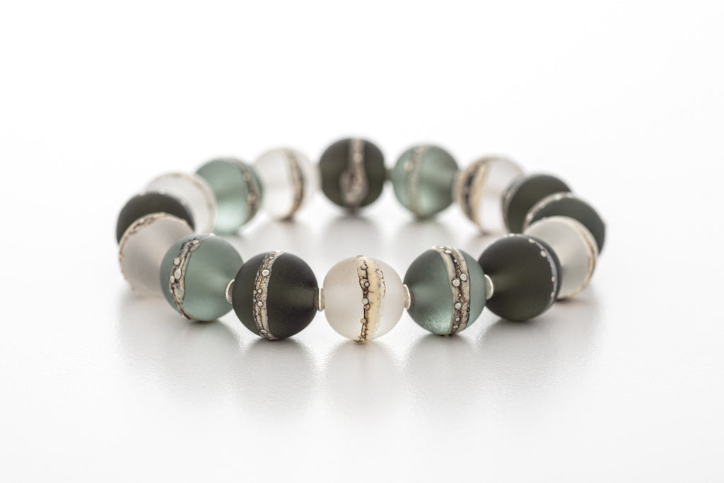 Bracelet - Kingston Limestone Tri-Grey