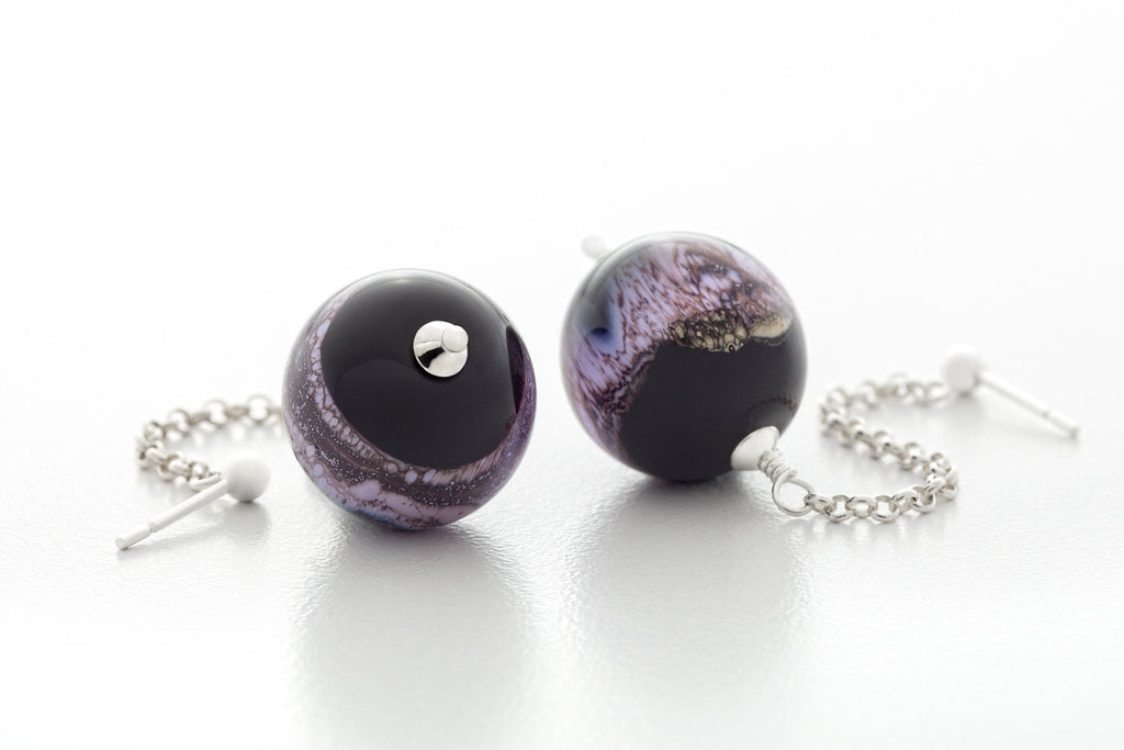 Earrings - Young Galaxy Milky Way
