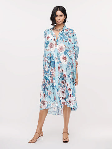 Davey Soft-Voile Midi Dress