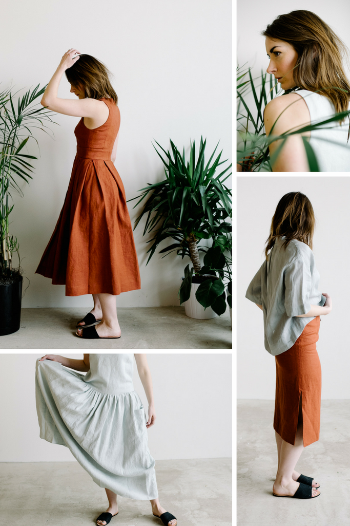 Maker Spotlight: Plante. Sustainable fashion made in the USA. Hazel & Rose