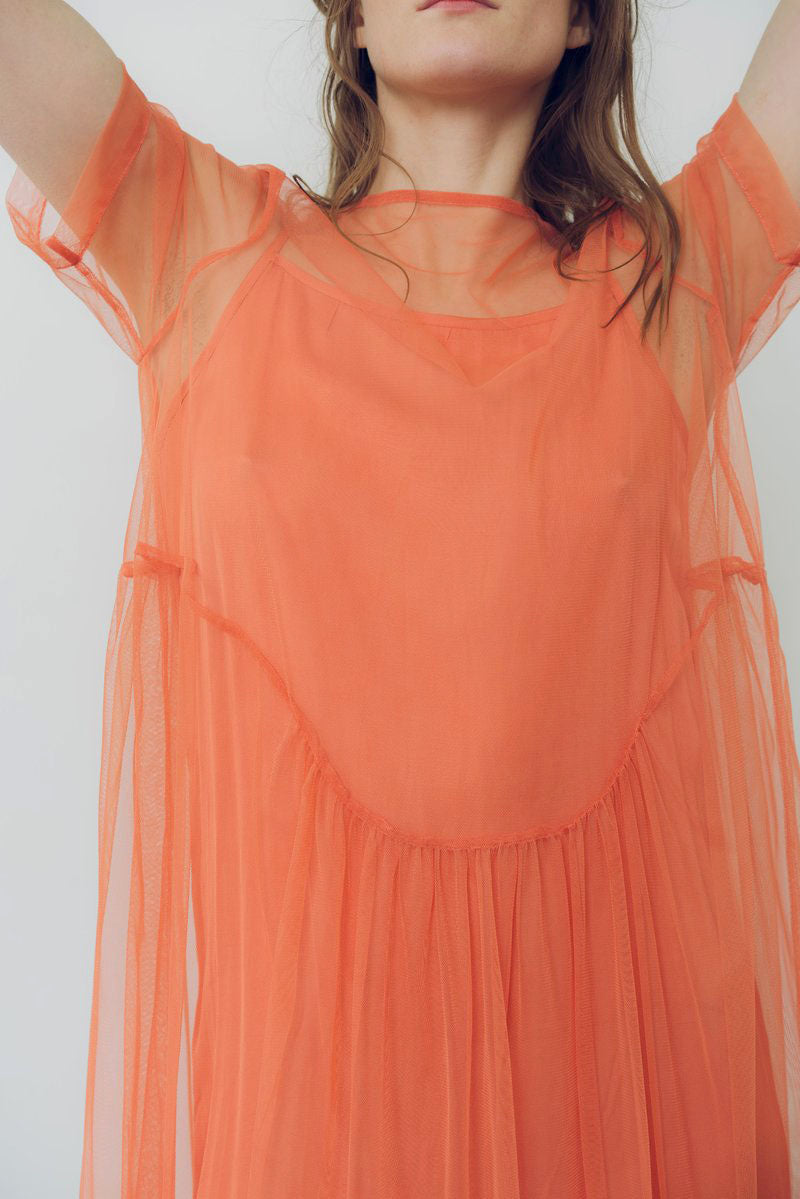 Wray Fair Trade Fashion | Lilia Dress Peach | Hazel & Rose