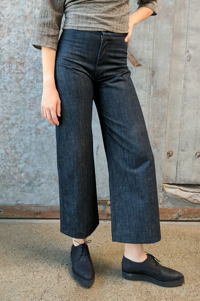 Ozma of California | Wide Leg Denim Pant | Hazel & Rose