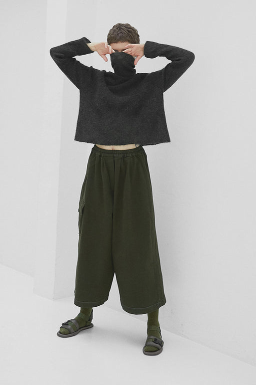Mónica Cordera | Chunky Cotton Pocket Pant | Green | Hazel & Rose | Minneapolis