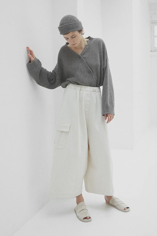 Mónica Cordera | Chunky Cotton Pocket Pant | Natural | Hazel & Rose | Minneapolis