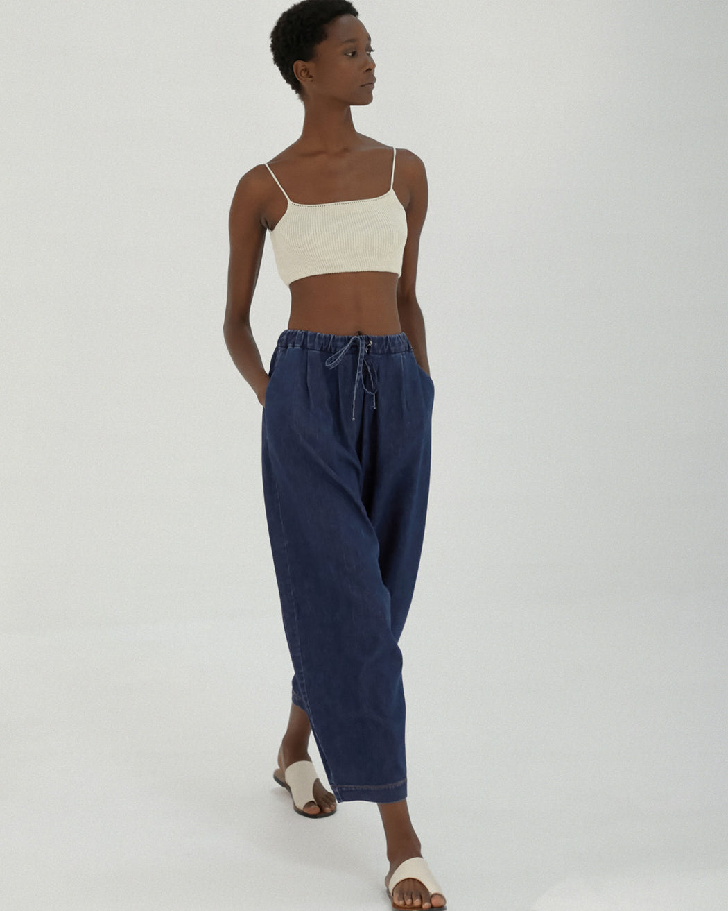 Mónica Cordera | MAXI PANTS | DENIM | Hazel & Rose | Minneapolis