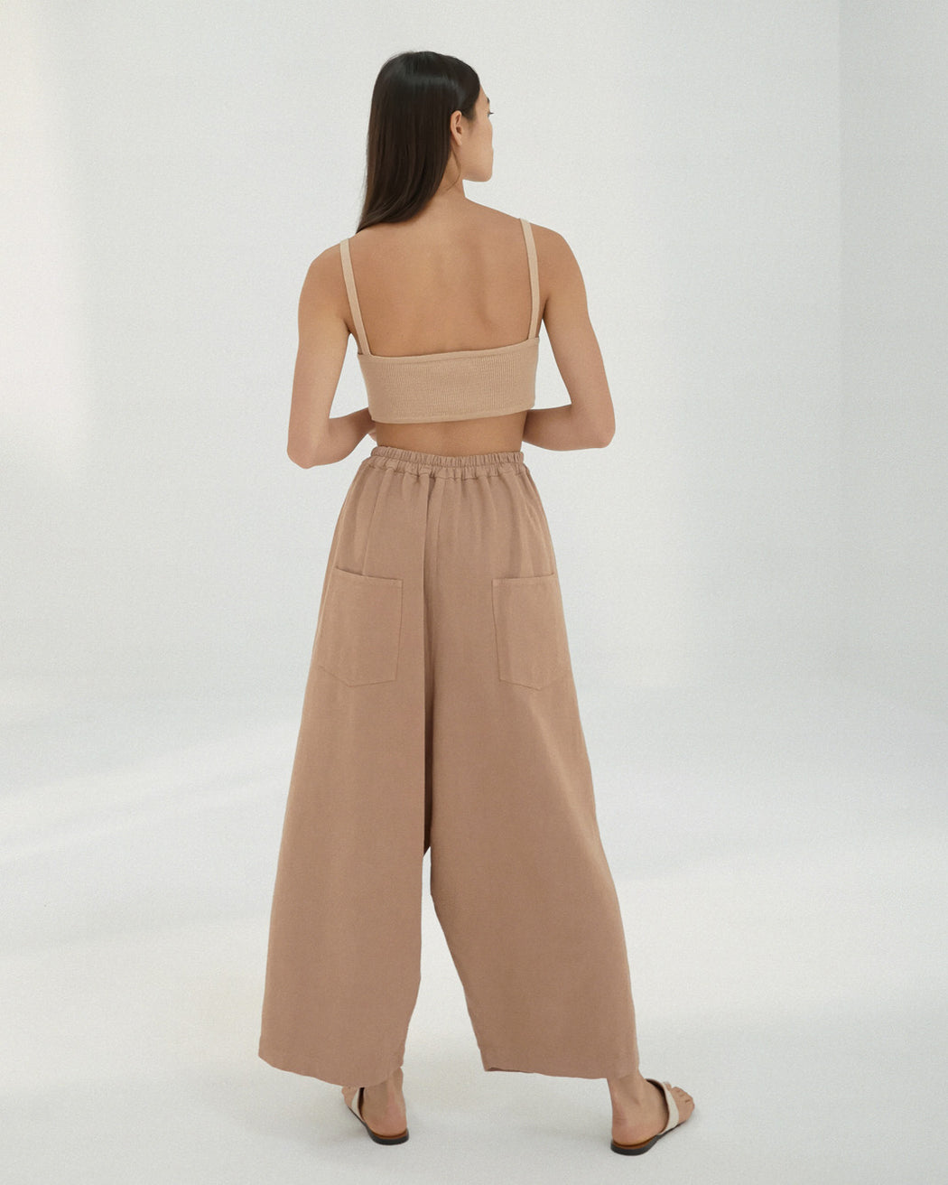 Mónica Cordera | PLEAT FRONT PANTS | CORK | Hazel & Rose | Minneapolis
