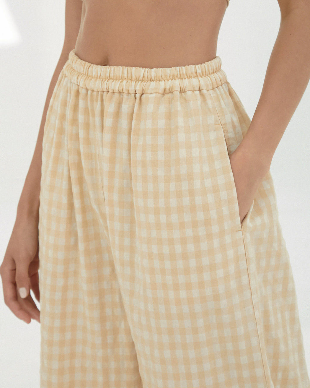 Mónica Cordera | CHECKERED PANTS | CHAMOMILE | Hazel & Rose | Minneapolis