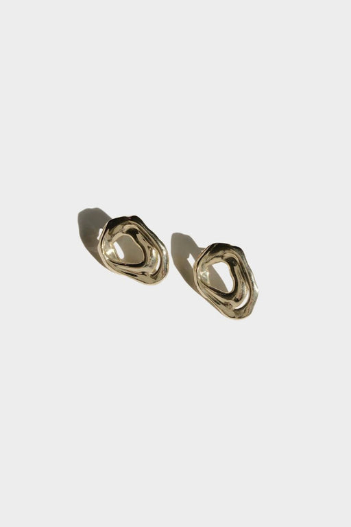 SOFT FORM STUDS | HIGH POLISH BRASS